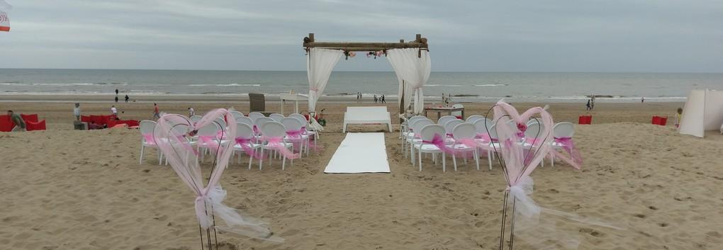 Trouwen op strand, trouwlocatie Noordwijk Trouwen op strand trouwlocatie De Zeemeeuw