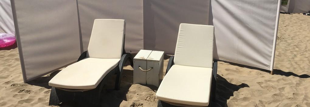 Strandverhuur bedden en stoelen huren op strand